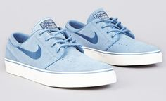 Nike SB Zoom Stefan Janoski Low - Work & Utility Blue | KicksOnFire Sneakers