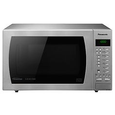 Buy Panasonic NN-CT585S Freestanding Combination Microwave, Stainless Steel Online at johnlewis.com