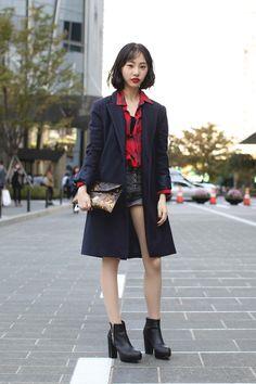 Seoul Fashion Week: Street Style (фото 8)