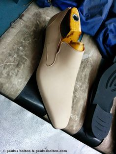 Paulus Bolten Shoe Boudoir Souliers & cuirs patinés: We are in PRODUCTION: newest mocassin of the Bolte...