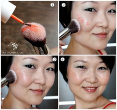 apply cream blush tutorial Tip & Tutorial: How to apply cream, liquid or gel blush or cheek tint without staining your fingers