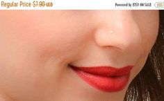 Fantastic Free simple Nose Piercings Style The makeup piercing constitutes a strong record, and also nose piercings , especially, tend to be very common Double Nose Piercing, Lip Piercing, Piercing Tattoo, Ear Piercings, Small Nose Studs, Gold Nose Stud, Nose Ring Stud, New Years Sales, Body Jewelry