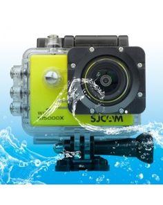 SJCAM SJ5000X WiFi Ultra HD 2K 2.0 inch LCD Sports Camcorder with Waterproof Case, 170 Degrees Wide Angle Lens, 30m Waterproof(Yellow)
