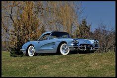 1958 Chevrolet Corvette Convertible 283/245 HP, 4-Speed #Mecum #Indianapolis