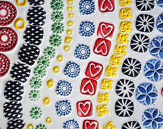 Sellos hechos a mano para sellos de arcilla de por chARiTyelise