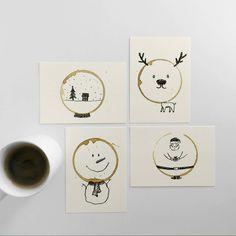 http://www.fubiz.net/en/2016/12/24/coffee-stains-postcards-for-christmas/