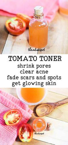 TOMATO TONER TO TIGHTEN AND DEEP CLEAN PORES