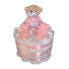 Gâteau de couches Ourson rose Exclusivité MYBBSHOWERSHOP Cadeau Baby Shower, Children, Ideas, Diaper Cakes, Bebe, Kitchens, Young Children, Boys, Kids