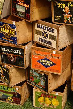 crates, crates, crates