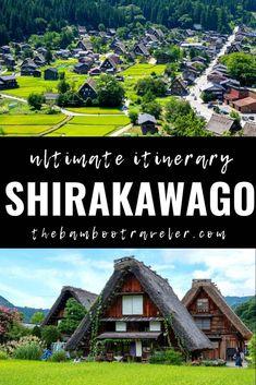Shirakawa-go Japan Itinerary: Enter a Japanese Fairy Tale - The Bamboo Traveler South Korea Travel, Asia Travel, Solo Travel, Japan Travel Guide, Travel Guides, Japanese Travel, Japanese Geisha, Japanese Kimono, Cities In Korea