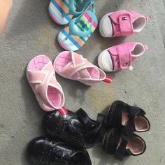 Size 3,4,5 baby bundle of shoes Awesome deal Other
