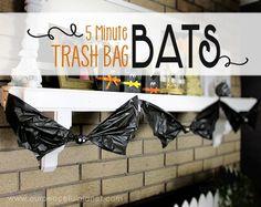 Make Trash Bag Bats in 5 Minutes