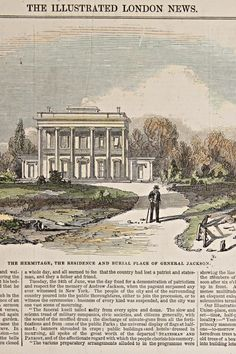 Antique Andrew Jackson Print, Andrew Jackson Wood Engraving, The Illustrated London News Wood Engrav #etsy #vintage #etsygifts #iartg #asmsg