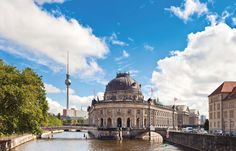 Museum Island - The name of the northern half of an island in the Spree river in the central Mitte district of Berlin, Germany. It is so called for the complex of five internationally significant museums. In 1999, the museum complex was added to the UNESCO list of World Heritage Sites.