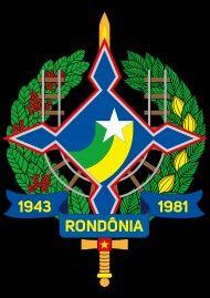 Brasão do Estado de Rondônia...Brasil