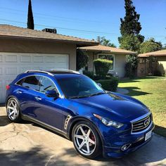 Clean & lowered combo on Conceptone Check out more Contact us for more info /… Infiniti Fx35, Nissan Infiniti, Suv Cars, Dashcam, Custom Cars, Luxury Cars, 4x4, Traveling By Yourself, Vans