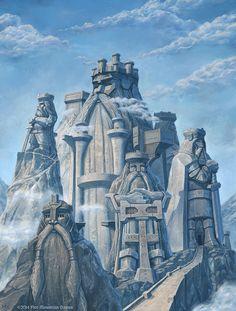 Dammerhall - Lost Kingdom of the Dwarves by SpiralMagus.deviantart.com on @DeviantArt