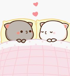 Cute Kiss, Cute Love Gif, Cute Love Pictures, Cute Cartoon Images, Cute Couple Cartoon, Cute Cartoon Wallpapers, Chibi Cat, Cute Chibi, Cute Panda Wallpaper