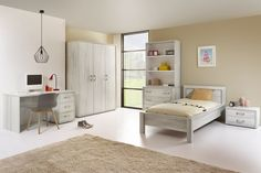 BERBER - La chambre de votre enfant est très importante, quelque soit son âge. Elle représente son univers et est remplie de jouets, de livres et de décorations. La collection Berber offre beaucoup de possibilités pour ranger ses affaires | Meubles Toff