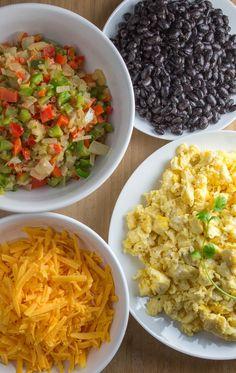 Homemade Frozen Breakfast Burritos | Hellobee