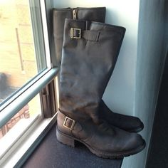 Timberland boots! Leather boots perfect for winter  - $127.00