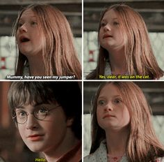 """Molly could have easily said, """"Fred and George had it last."""" And it would have meant much the same thing."""