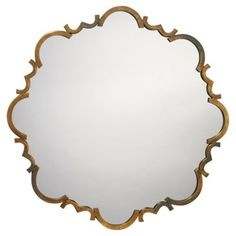 Check out this item at One Kings Lane! St. Albans Wall Mirror, Antiqued Gold