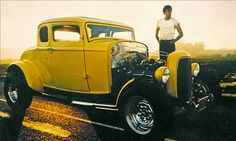 1932 Ford Coupe Hot Rod from American Graffiti American Graffiti, Hot Rods, Classic Hot Rod, Classic Cars, Classic Films, Us Cars, Race Cars, Carros Audi, Vintage Cars