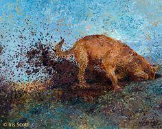 Amazing Finger Paintings by Iris Scott | Bored Panda
