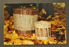Willow baskets  kaksneljaseitteman.blogspot.fi