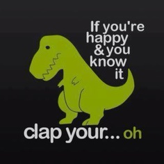I am such a dork but this made me laugh! reminds me of my mom because we say she has short arms like a t-rex!