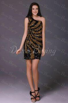 Chic Mini/Short-Length Sheath Milana's Cocktail Dress  US$ 148.39