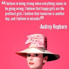 All sizes | Audrey Hepburn #quote | Flickr - Photo Sharing!