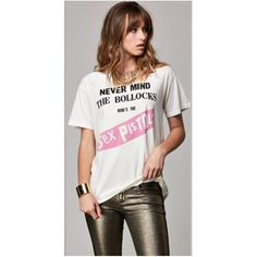 God Save the Queen   Sex Pistols Distressed Tee by Trunk
