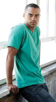 Jesse Williams - I'm only pinning this so I can look at him any time I want. Yum.