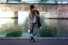 Trilby on my blog ! http://www.marieandmood.com/2014/10/trilby.html @kookai Outfit - French Blogger - Fashion - Stylish