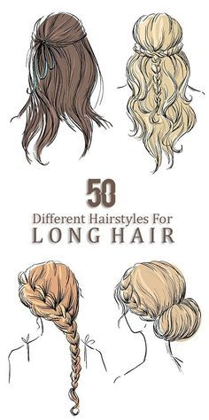 80 DIY Simple and Easy Hairstyles for Long Hair Female 2021