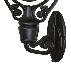Fanimation FPH61-LQ Wall Mount Arm and Backplate for Old Havana Fans Black Ceiling Fan Accessories