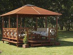 outdoor wood baluster square designs | Беседка для дачи своими руками: виды ...