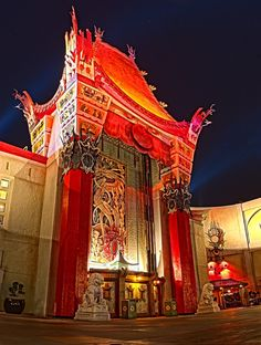 Mann's Chinese Theatre at Disney's Hollywood Studios - 21 Exposures