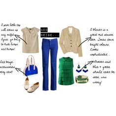 cobalt pants - what to wear with