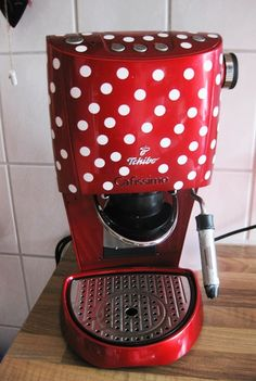 dotted my coffee maker :-)
