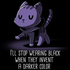 I only wear black - Teeturtle - # only - I only wear black – tea turtle – - Cute Cartoon Drawings, Cute Animal Drawings, Kawaii Drawings, Cute Animal Quotes, Cute Quotes, Cute Cartoon Wallpapers, Animes Wallpapers, Cute Baby Animals, Funny Animals