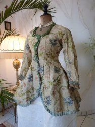 Lady's Silk Jacket, ca. 1750-1760