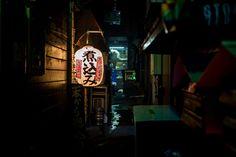 A backyard in Shinjuku. Tokyo, Japan. By Herr Breuer. Taken on October 24, 2015.