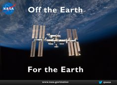 Off the Earth, For the Earth offers an animating title for the framework for America's space program based on today's needs and tomorrow's opportunities. The pieces to begin implementing this framework exist – starting with the full realization of the potential of the International Space Station. It also includes the groundbreaking work now taking place at NASA and around the world to accelerate the pace of technology development and solidify the role of commercial providers of cargo and…