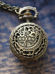 SALE 20 OFF Owl Bronze Steampunk vintage by JoannaAccessories, $3.99