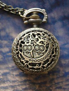 SALE 20 OFF Owl Bronze Steampunk vintage by JoannaAccessories, $3.99