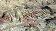 Painted Hills in north-central Oregon.