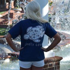 True Navy Paisley Short Sleeve Tee from Shelly Cove